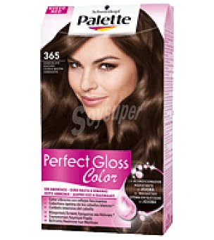Palette Tinte Perfect Gloss Color 365 Chocolate Oscuro 1 ud
