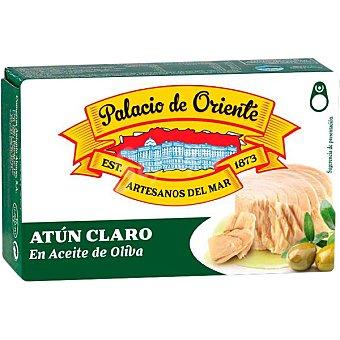 Palacio de Oriente Atún claro en aceite de oliva Lata 80 g neto escurrido