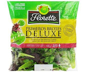 FLORETTE P. Brotes Ensalada Deluxe Primeros Brotes florette 100 Gramos