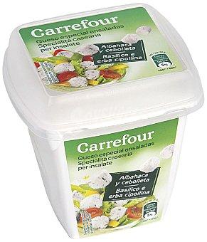 Carrefour Queso ensalada albahaca/ cebolla 120 g