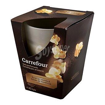 Carrefour Vela perfumada flor de vainilla 1 ud