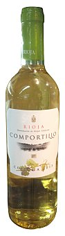 Comportillo Vino blanco rioja Botella 750 cc
