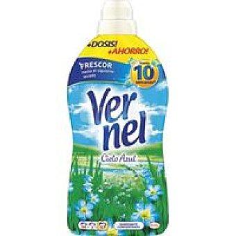 Vernel Suavizante concentrado azul Botella 54+3 dosis