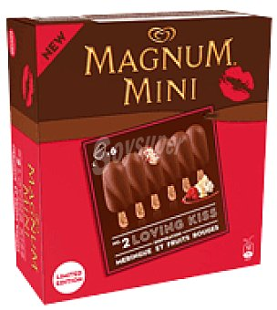 MAGNUM de FRIGO Helado de chocolate Merengue y Frutos Rojos 6 ud