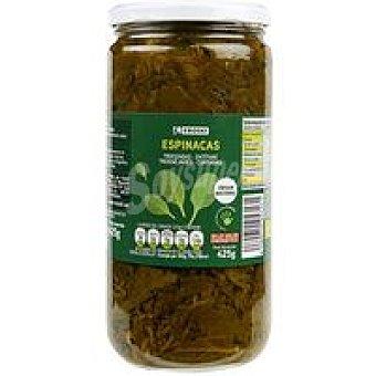 Eroski Espinaca Frasco 425 g