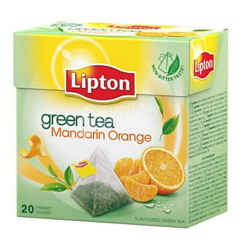 Lipton Infusion green gunpowder piramides 20 ud