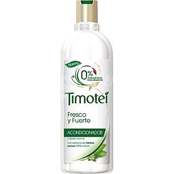 TIMOTEI acondicionador Fresco y Fuerte con extracto de hierbas alpinas para cabello normal  frasco 300 ml