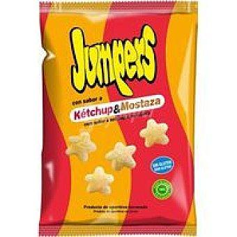 Jumpers Snack horneado ketchup&mostaza Bolsa 100 g