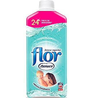 Flor Suavizante concentrado nenuco botella 50 lavados