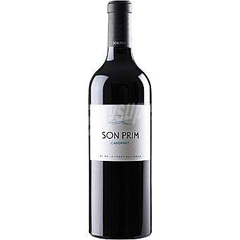 SON PRIM Vino tinto cabernet de la Tierra de Mallorca botella 75 cl Botella 75 cl
