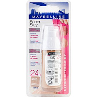 Maybelline New York Fondo Maquillaje Super Stay 48 Sun Bote de 30 ml