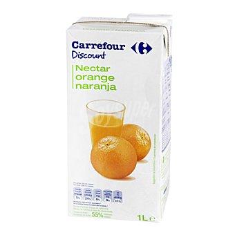 Carrefour Discount Néctar de naranja Brick de 1 l