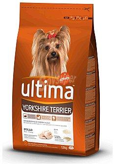 Ultima Affinity Pienso para perros adultos Yorkshire Terrier con pollo Bolsa 1,5 kg