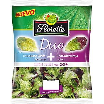 FLORETTE DUO Ensalada de trocadero verde + trocadero roja Bolsa 100 g