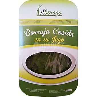EL BORAGO Borraja cocida en su jugo Bandeja 350 g