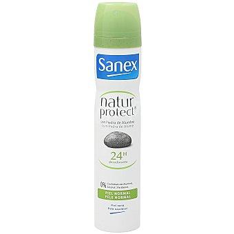 Sanex Desodorante piel normal con mineral de alumbre Natur Protect Spray 200 ml