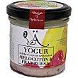 Yogur de oveja con mermelada de melocotón y frambuesa Tarro 125 g Mucientes