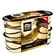 Mousse de vainilla crujiente Nestlé Gold Pack de 4 unidades de 100 g Nestlé Gold