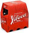 Cerveza rubia nacional Pack 6 botellines x 25 cl Xibeca