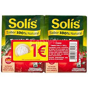 Solís Tomate frito Pack 2 x 350 g