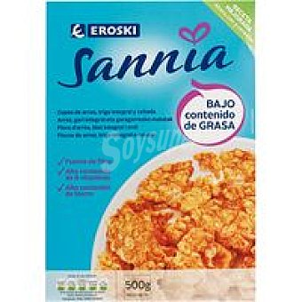 Eroski Sannia Copos integrales Paquete 500 g