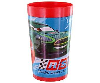 DISNEY Vaso apilable de polipropileno con diseño de Cars Racing Sport Network, 270 centilitros 1 Unidad