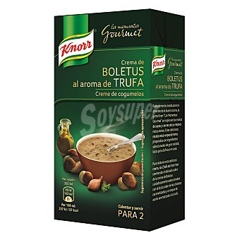 Knorr Crema Gourmet de boletus Brik 500 ml