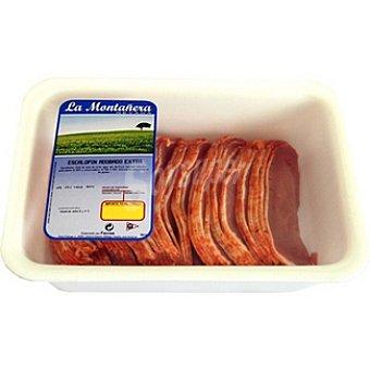 LA MONTAÑERA Escalopín de lomo adobado de cerdo peso aproximado Bandeja 750 g