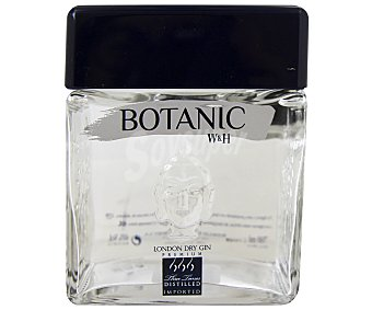 Botanic Ginebra premium tipo London dry gin Botella de 70 centilitros