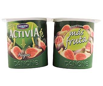 Activia Danone Yogur con bífidus e higos 4 x 125 g