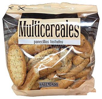 HACENDADO Pan tostado multicereales  Paquete de 250 g