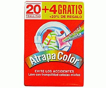 Atrapa Color Toallitas Protector Color 24u