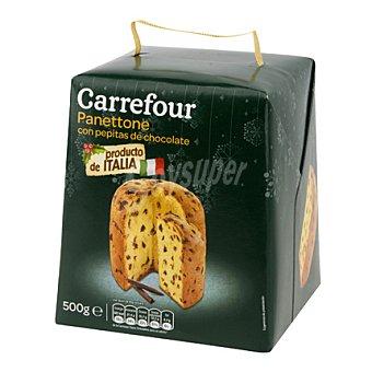 Carrefour Panettone con pepitas de chocolate 500 g