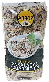 Hacendado Arroz especial ensalada y guarnicion Paquete 1 kg