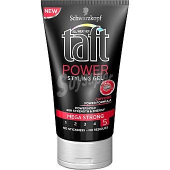 TAFT gel styling Power mega fuerte tubo 150 ml Tubo 150 ml