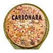 Pizza fresca carbonara familiar (crema leche, bacon, champiñon)  600 g Hacendado