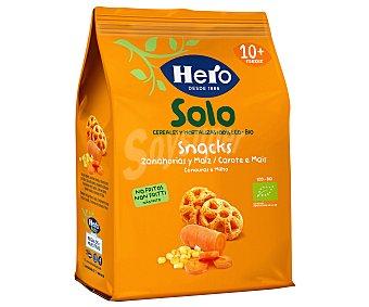 Hero Snacks no frtios de zanahoras y maíz de origen ecológico, a partir de 10 meses solo 40 g