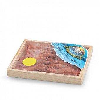 Gamba plancha caja de madera 300 G Caja de 300 g