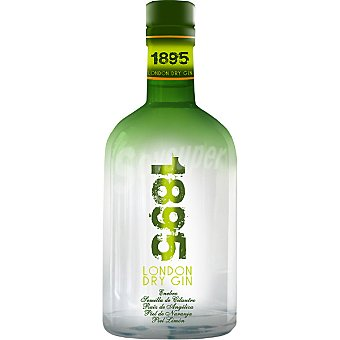 1895 Ginebra premium tipo London Dry Gin botella 70 cl Botella 70 cl