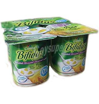 Condis Yogur bifidus PIÑA0% 4 UNI