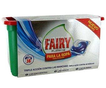 FAIRY Platinum Detergente en cápsulas para lavadora 38 C
