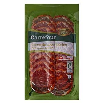 Carrefour Lomo Ibérico en lonchas - Sin Gluten 100 g