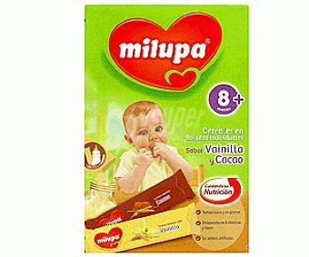 Milupa Cereales en Bolsitas Individuales de Sabor Vainilla y Cacao 240g