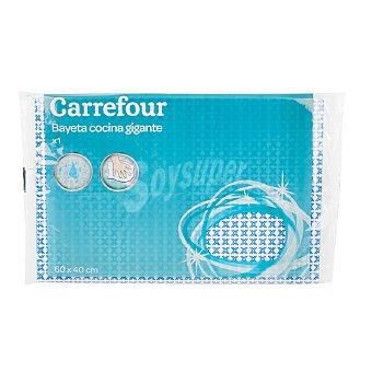 Carrefour Bayeta Multiusos estampada Azul 1 ud