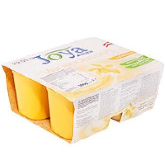 Joya Postre de soja-vainilla Pack 4x125 g