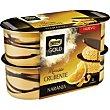 Mousse con naranja pack 4x57 g Gold Nestlé