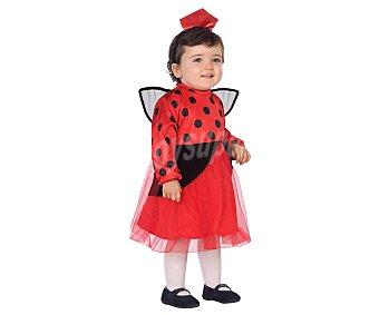 Atosa Disfraz infantil de mariquita, 12 a 24 meses,