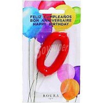 Roura Vela aniversario roja n.0