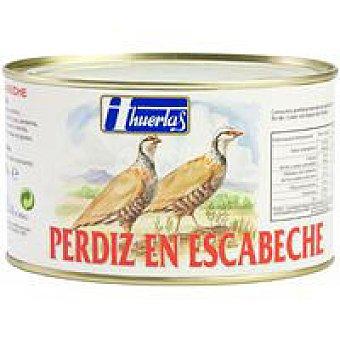 Huertas Perdiz en escabeche Frasco 500 g
