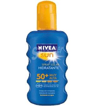 Nivea Sun Solar hidratante factor de protección 50+ Spray de 200 ml